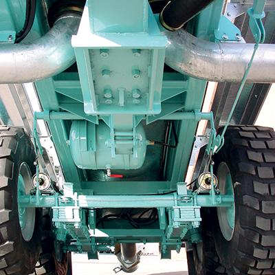 Bogie mechanical suspensions