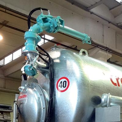 Pompe garda e getti direzionabili per ferti-irrigazione