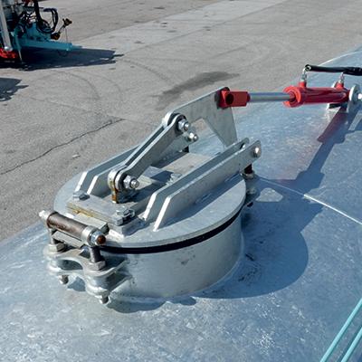 Hydraulic upper loading