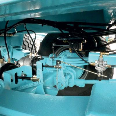 Essieux industriels avec correcteur de freinage