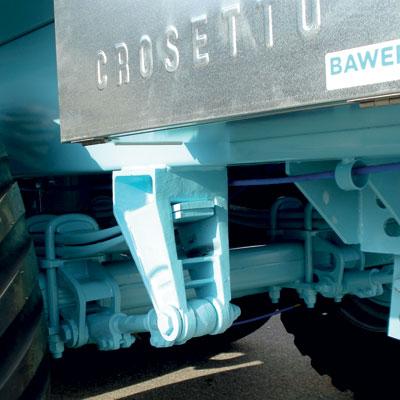 Sospensioni meccaniche a balestre industriali