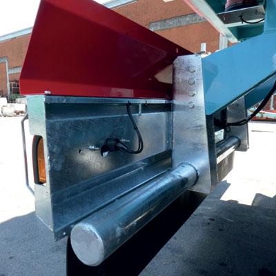 Barra paraincastro posteriore in acciaio zincato