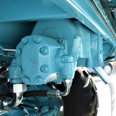 Réducteur central avec pompe latérale pour modèles à 4 hérissons