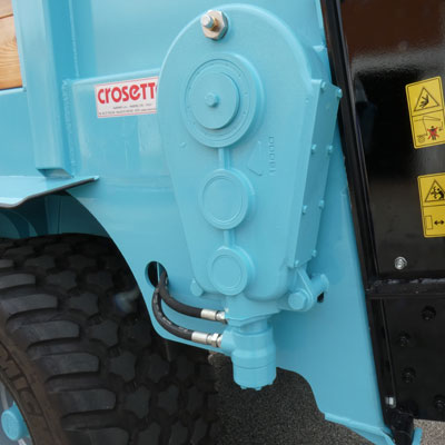 Pompe et moteur hydraulique surdimensionnés et faciles à inspecter