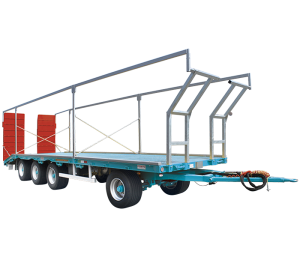 Flat trailers