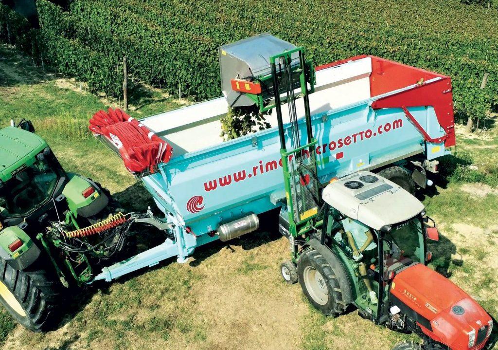 Dumper Transport d'aliments