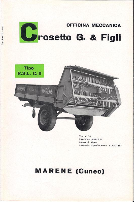 Old photo rimorchi crosetto