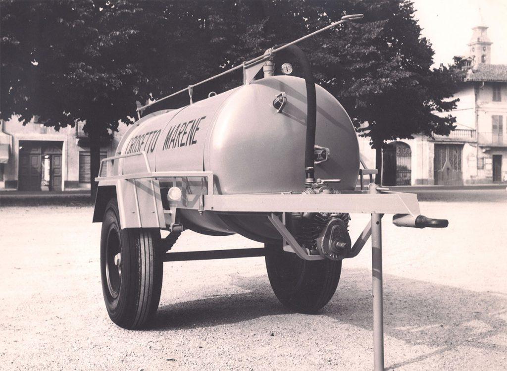 Foto storica rimorchi crosetto