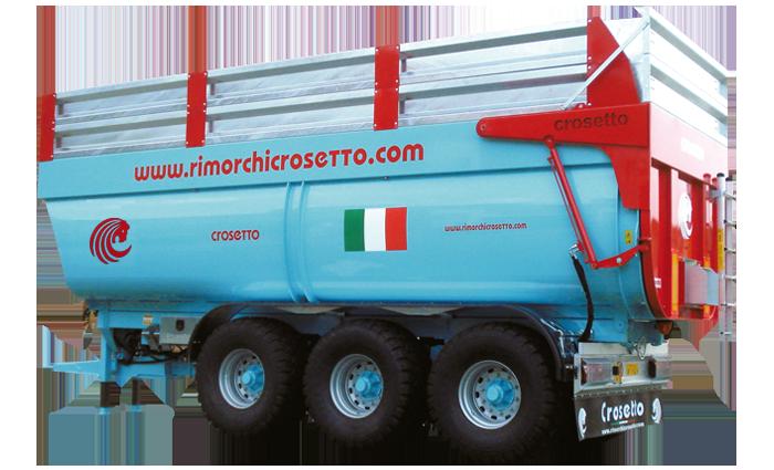 Riorchio ribaltabile dumper CMR180